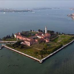 Venezia, veduta dell'Isola di San Lazzaro degli armeni