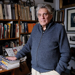 Enzo Sellerio. Foto Ansa