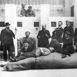 Gli esponenti della Secessione alla mostra di Beethoven nel 1902