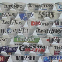 Patrick Depin, un artista francese e tre luoghi veneziani: 60 «tazze» per declinare il quotidiano