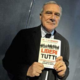 """Pietro Grasso, """" Liberi Tutti""""- Lettera a un ragazzo che non vuole morire di Mafia"""