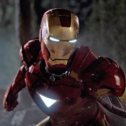 """Ci aspetta un futuro di superatleti artificiali? Nella foto il supereroe Iron Man in una scena del film """"The Avengers"""" (AFP Photo)"""