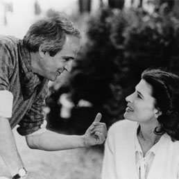 François Truffaut e Fanny Ardant (Afp)