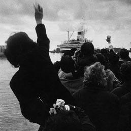 """""""Emigranti"""" di Stefano Robino (1957)"""