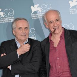 Marco Bellocchio e Toni Servillo (Space24)