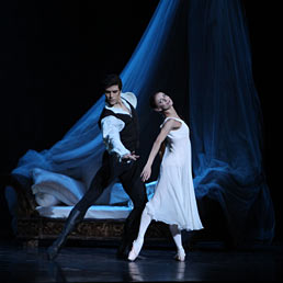 Nella foto Roberto Bolle e Maria Eichwald (Foto Brescia-Amisano)