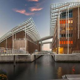 """Il """"Tjuvholmen Icon Complex"""" di Oslo progettato da Renzo Piano (Foto Nic Lehoux)"""