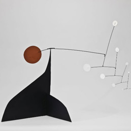 Alexander Calder, Red Disc-White Dots, 1960