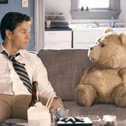 Una scena del film «Ted»