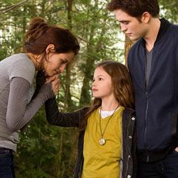 Nella foto una scena di «The Twilight Saga-Breaking Dawn Parte II»