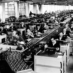Fabbrica macchine da scrivere Olivetti (Marka)