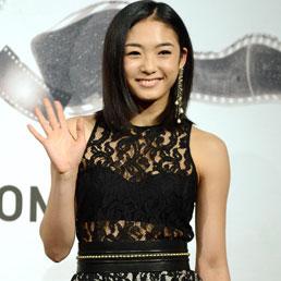 L'attrice giapponese Erina Mizuno (Ansa)