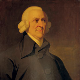 L'economista scozzese Adam Smith