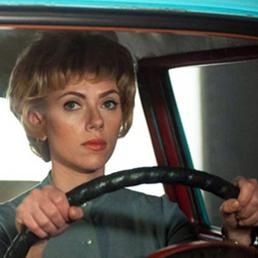 Scarlett Johansson in una scena di Hitchcock