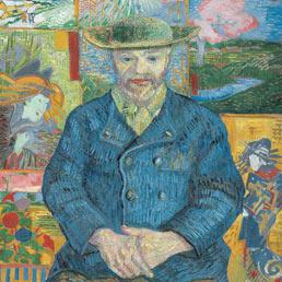 Portrait of Père Tanguy, 1887