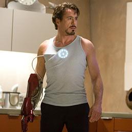 Robert Downey Jr. in una scena di Iron Man (AFP Photo)