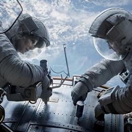 Una scena del film «Gravity»