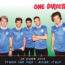 Fenomeno One Direction: San Siro esaurito in 15 minuti per il concerto del 28 giugno. Sold out anche il 29 - Manuale per i genitori degli 1D fans
