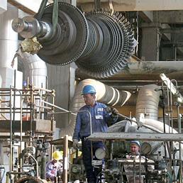 Nella foto lo stabilimento della Amarù di Gela, nata nell'indotto del petrolchimico e attiva anche all'estero