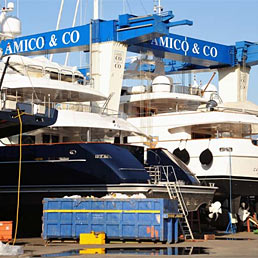 Amico & Co. leader nei super-yacht