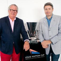 Bruno Troublé (a sinistra) e Hamdi Chatti