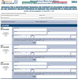 Ecco i documenti utili per chi opta per la cedolare secca for Contratto cedolare secca modello