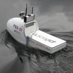 Il drone marino che naviga da solo