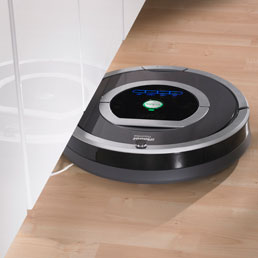 Robot maniaci del pulito