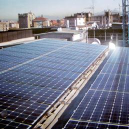 Boom per il fotovoltaico in Italia (Fotogramma)