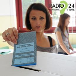La diretta elettorale sul sito del Sole 24 Ore e su Radio24
