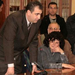 Luisa Fattorusso alla presentazione di Libera del 26 marzo in prefettura (Foto: Marco Costantino)