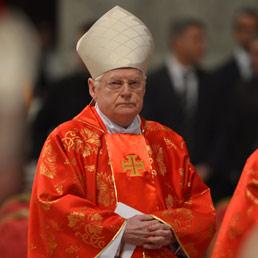 Il cardinale Angelo Scola (Afp)