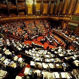 Nella foto l'Aula del Senato