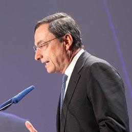 Il Governatore della banca d'Italia, Mario Draghi