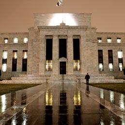 L'edificio della Federal Reserve a Washington (AP)