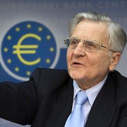 Il presidente della Bce, Jean Claude Trichet (Ansa)