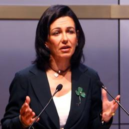 Ana Botin si dimette dal cda di Generali (Afp)