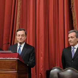 Draghi nell'ultimo discorso da Governatore: tornare alla crescita