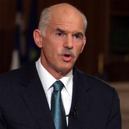 Il Primo Ministro greco George Papandreou (Reuters)