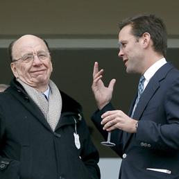 Rupert e James Murdoch (Reuters)