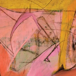 "L'opera di Willem de Kooning, ""Pink Angels"" (Frederick R. Weisman Art Foundation, Los Angeles. © 2011 The Willem de Kooning Foundation/Artists Rights Society (ARS), New York )"