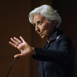 Direttore generale del Fmi, Christine Lagarde (Epa)