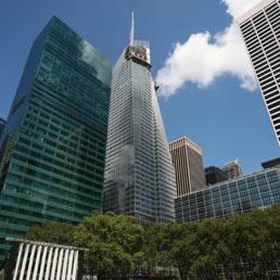 Torre della finanza. Il grattacielo Bank of America Tower a One Bryant Park, New York. (Ap)