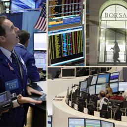 5b76156da6 Borse, lo shutdown preoccupa i mercati ma Milano chiude positiva. Male  Telecom - Il Sole 24 ORE