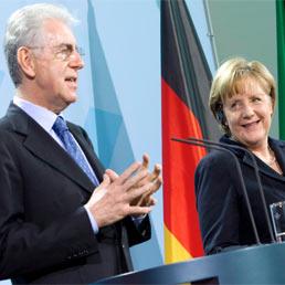 Merkel a Monti: Germania pronta a versare più capitali nel fondo salva-Stati (e la Bce può fare la sua parte)