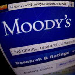 Moody's abbassa il giudizio di 114 banche europee