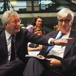 Massimo Ponzellini con Tremonti