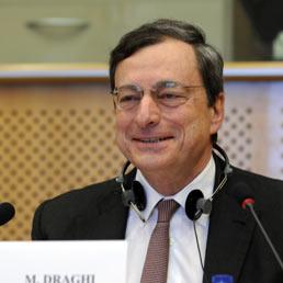 Mario Draghi - Afp