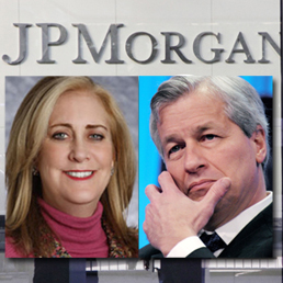 Ina Drew e James Dimon di JpMorgan