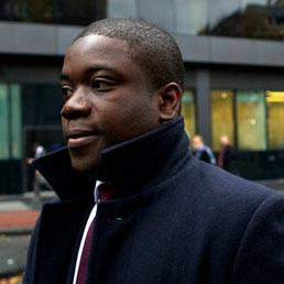 Kweku Adoboli, ex trader della banca svizzera Ubs. (Afp)